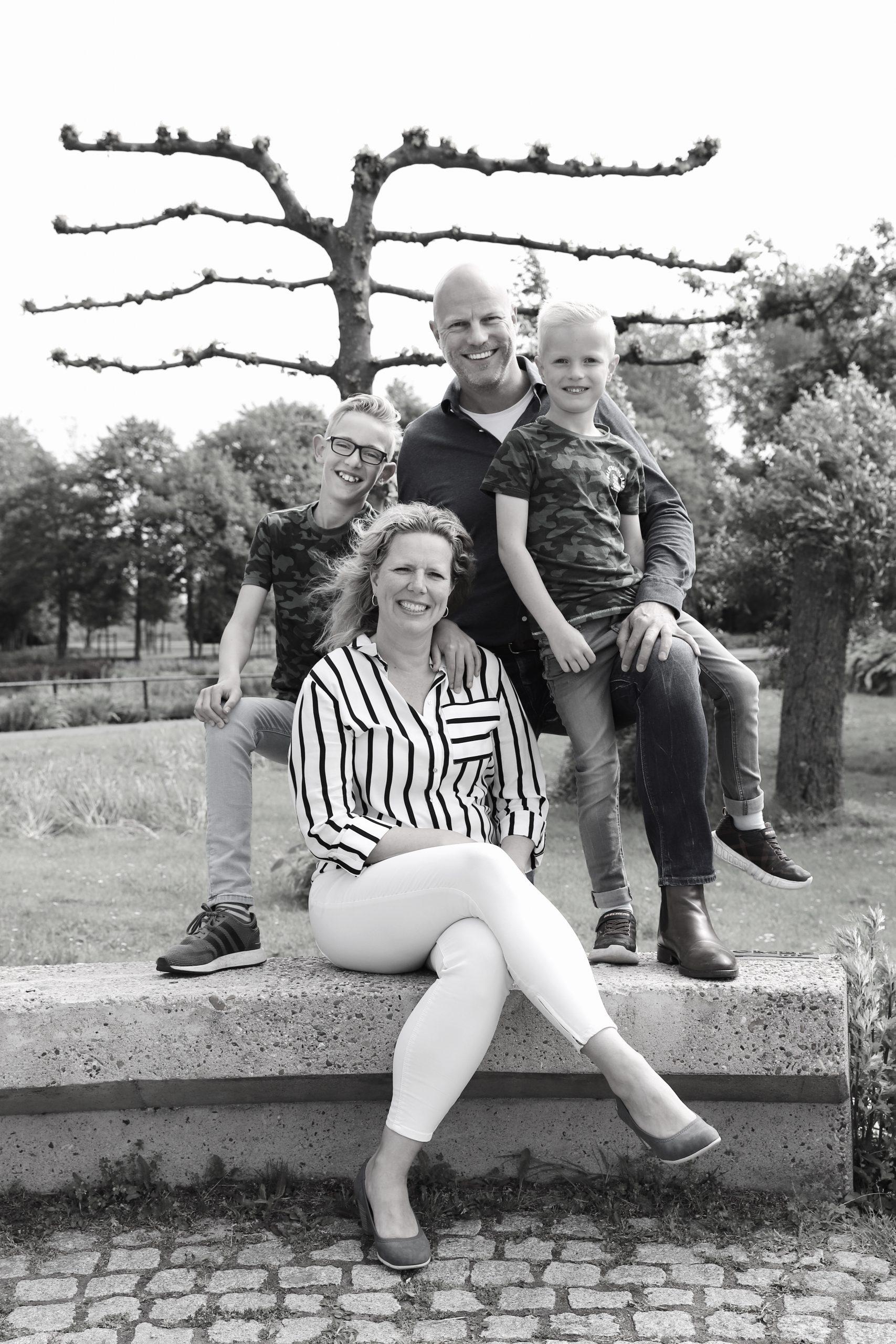 Fotokamer Familiefoto
