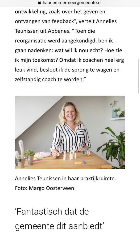 Informeer Annelies Teunissen