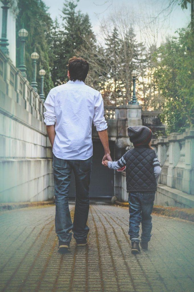 vader en kind relatie